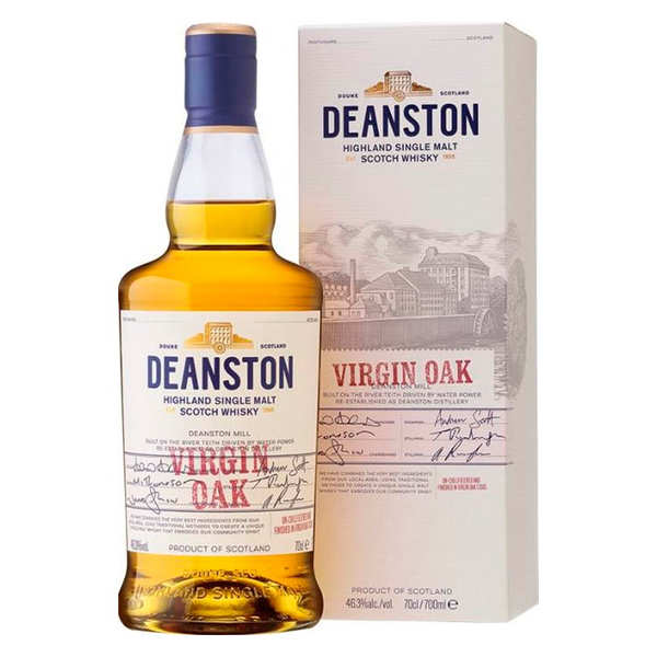 Deanston Virgin Oak single malt whisky - 46,3%