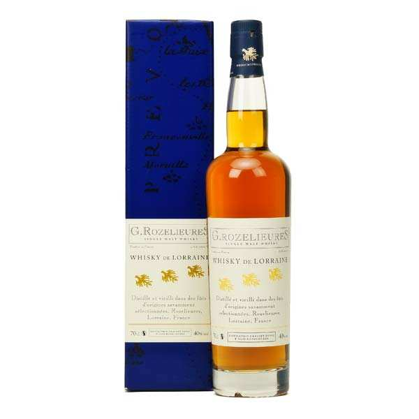 Whisky Rozelieures single malt de Lorraine - 40%