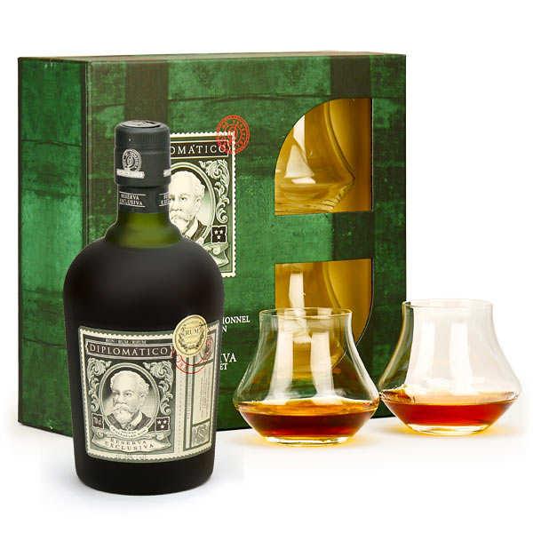 Rhum Diplomatico Reserva Exclusiva - Coffret 2 verres