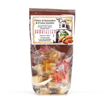 Damaselles - Les Damaselles - Sachet - Pâte d'amande et fruits