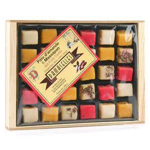 Damaselles - Les Damaselles - Cube - Pâte d'amande et fruits