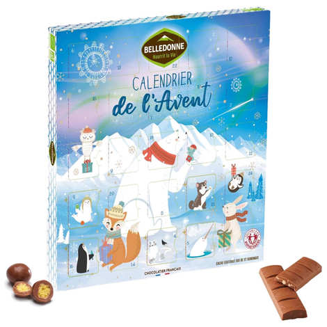 Belledonne Chocolatier - Organic Milk Chocolate Advent Calendar