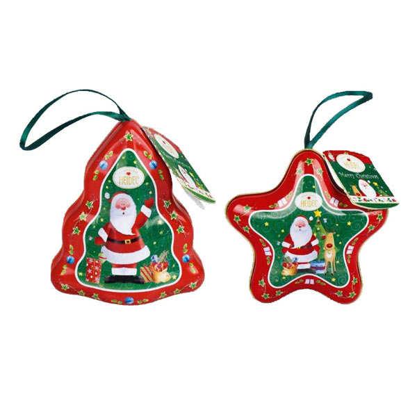 Suspension de Noël en métal garnie de chocolats