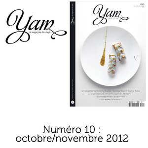 Yannick Alléno Magazine - French magazine about cuisine - YAM n°10