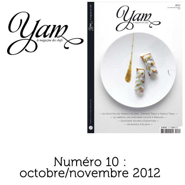 French magazine about cuisine - YAM n°10