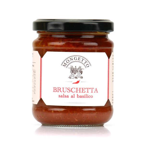 Préparation pour Bruschetta au basilic