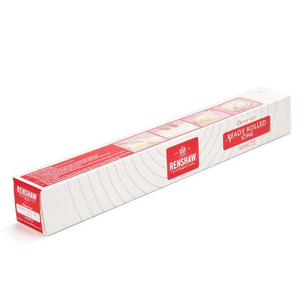 Pâte à sucre blanche - Rouleau prêt à dérouler