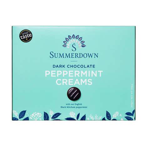 Summerdown Pure Mint - Palets chocolat fourrés à la menthe