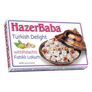 Hazer Baba loukoums - Turkish Delight with Pistachio