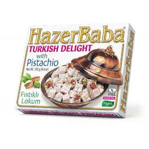 Hazer Baba loukoums - Turkish Delight with Pistachio