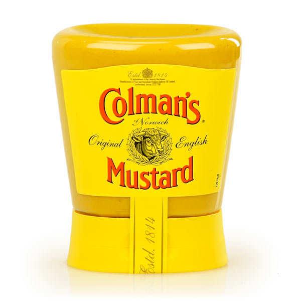 Moutarde Colman's en flacon souple