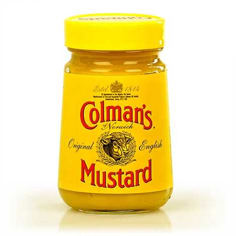 Colman's English Mustard in jar - Colman's