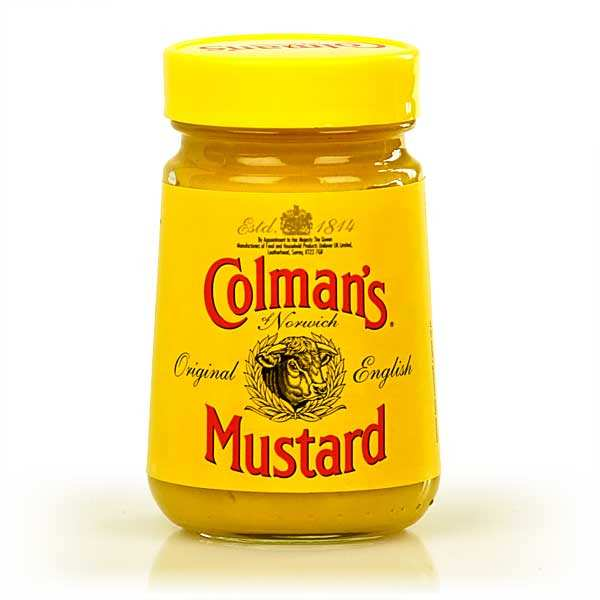 Colman's English Mustard in jar