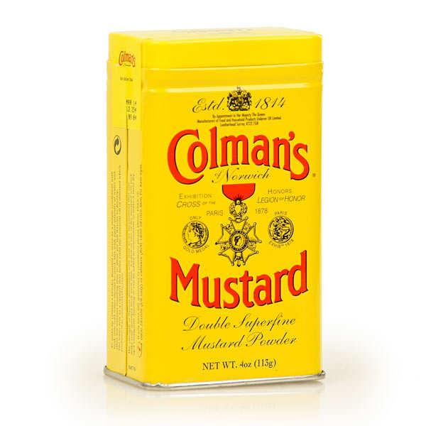 Moutarde Colman's en poudre