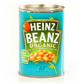 Heinz - Baked beans bio - Haricots blancs à la sauce tomate