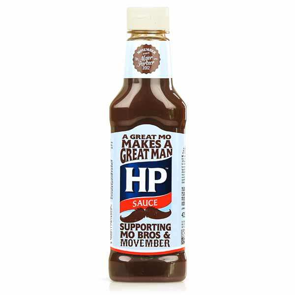 HP Brown Sauce barbecue originale