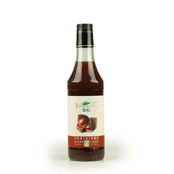 Organic cevennes chestnut syrup