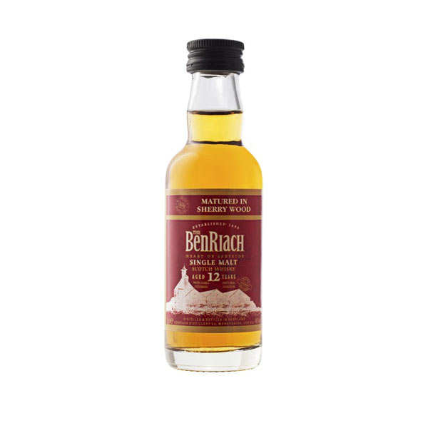 Whisky Benriach 12 ans Sherry Cask - Mignonnette - 46%