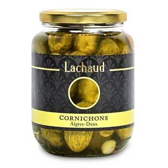 Lachaud - Gros cornichons à l'aigre doux au vinaigre de vin