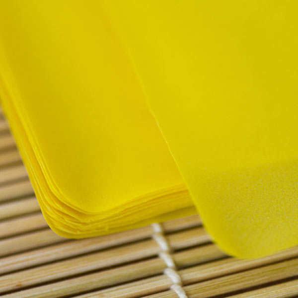 Feuilles de soja colorées pour maki - Soy Crepe