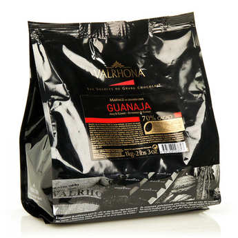 Valrhona - Dark chocolate couverture Guanaja 70%