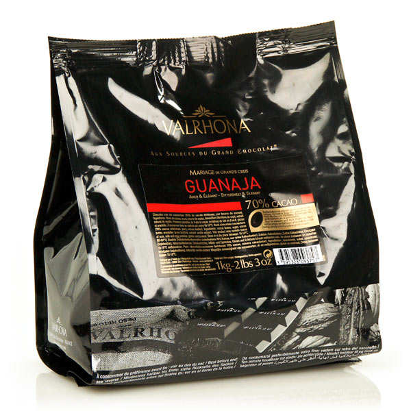 Dark chocolate couverture Guanaja 70%