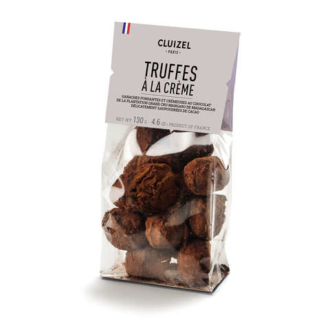 Michel Cluizel - Coffret de 15 truffes en chocolat Michel Cluizel