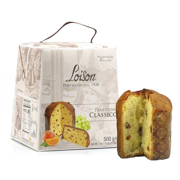 Panettone italien artisanal aux fruits confits