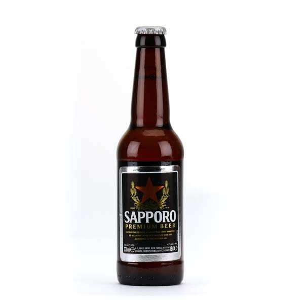 Bière japonaise Sapporo - 5%