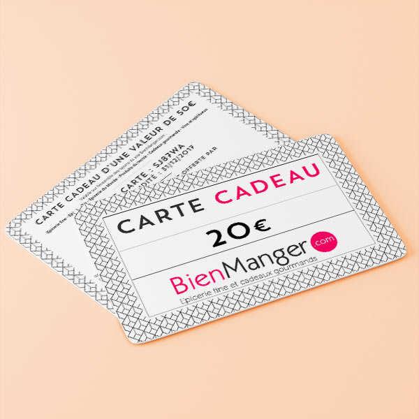 Carte cadeau BienManger.com 20€