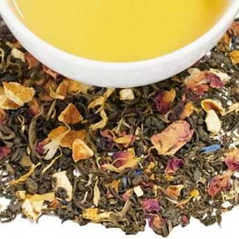 Harney & Sons - Chinese Flower Green Tea with Flowers & Lemon