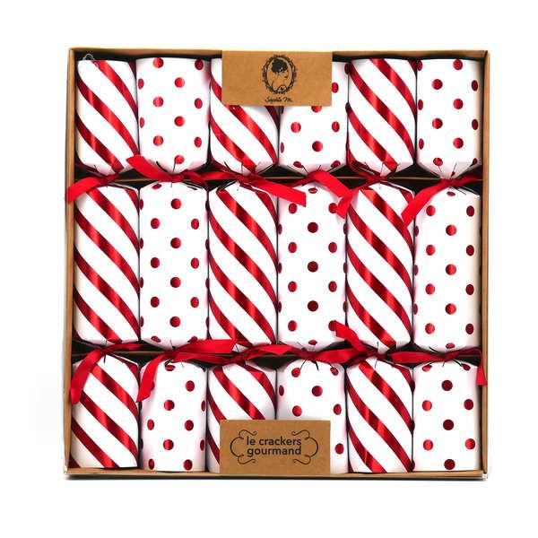 crackers de no l ourson guimauve sophie m. Black Bedroom Furniture Sets. Home Design Ideas