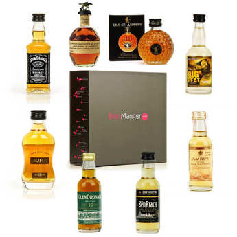 BienManger paniers garnis - Introduction to Whisky - 8 Samplers