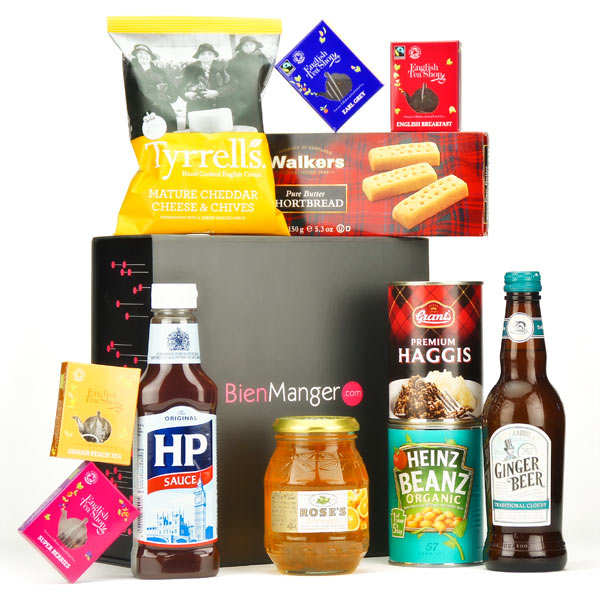English gourmet gift box