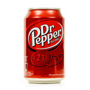 Dr Pepper - Dr Pepper soda can