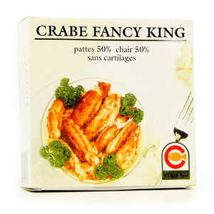 - Crabe royal du Chili (Fancy King) - Chair et pattes