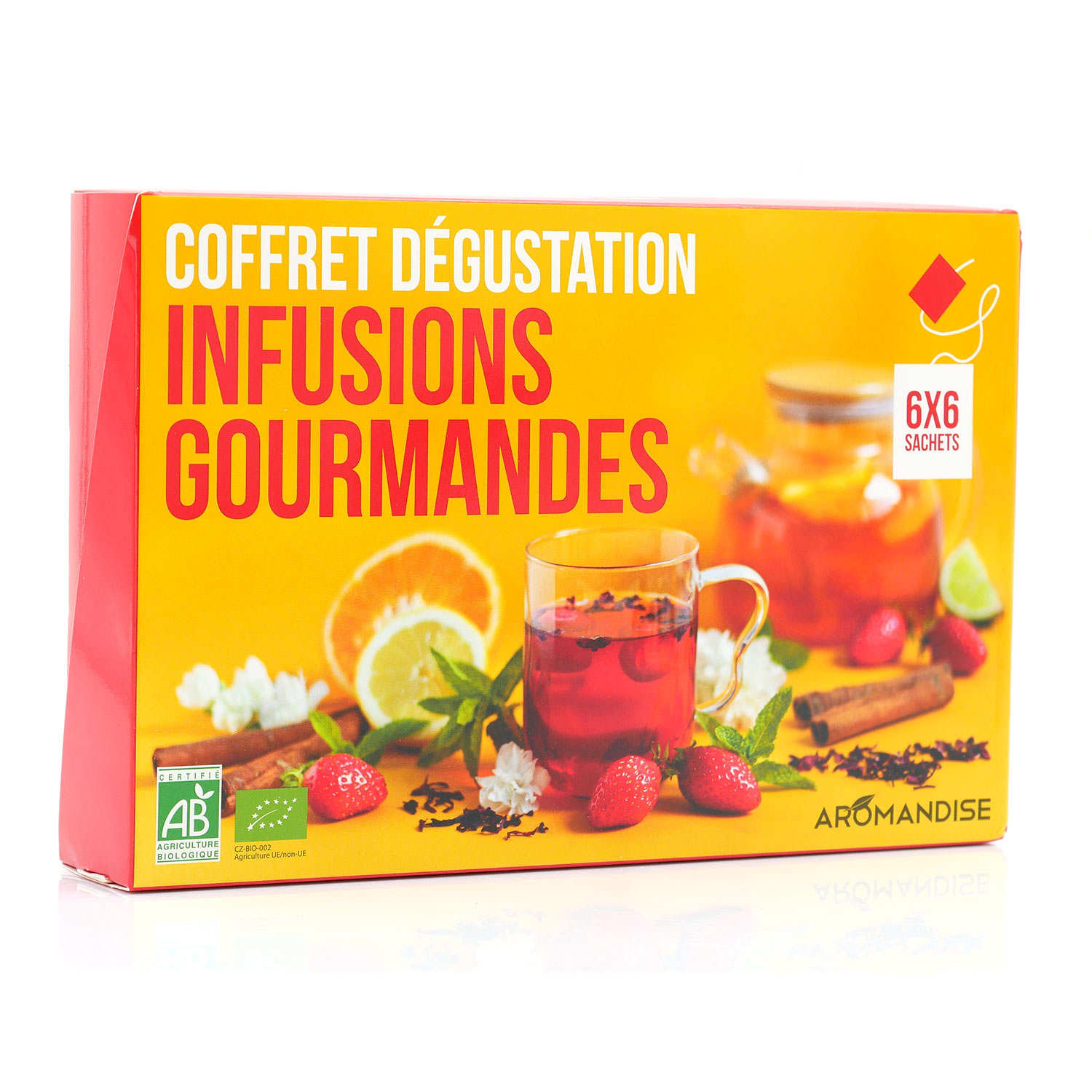 Organic Teas and Infusions Gift Set
