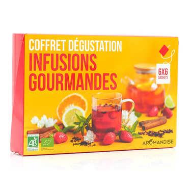 Coffret dégustation thés et tisanes du monde bio