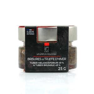 Truffières de Rabasse - Brisures de truffes noires