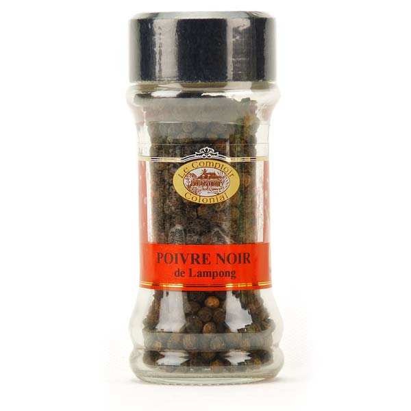 Lampong black peppercorns