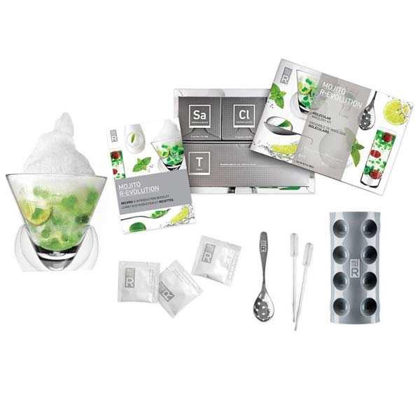 mini kit cocktail mol culaire mojito r evolution saveurs mol cule r. Black Bedroom Furniture Sets. Home Design Ideas