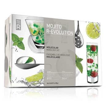 Saveurs MOLÉCULE-R - Molecular Mixology Cocktail Kit - Mojito R-Evolution