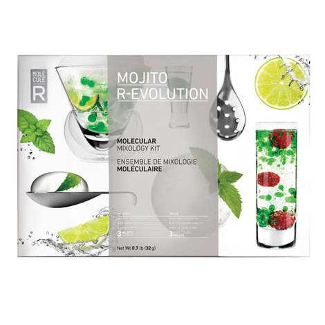 Saveurs MOLÉCULE-R - Mini Kit cocktail moléculaire - Mojito R-Evolution