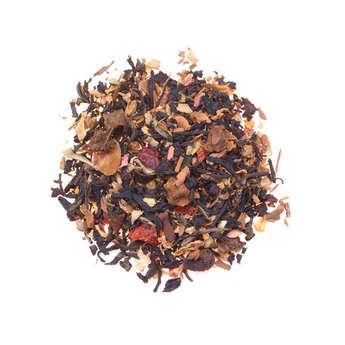 Four O' Clock - Organic Black Tea with Spiced Apple & Caramel - Four O' Clock