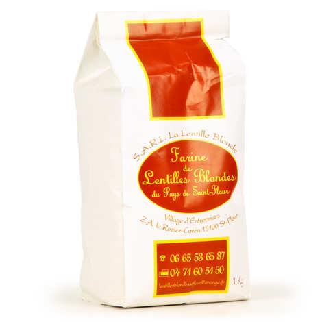 La Lentille Blonde de Saint-Flour - Farine de lentilles blondes de Saint Flour