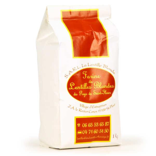 Blonde lentils Flour from Saint Flour