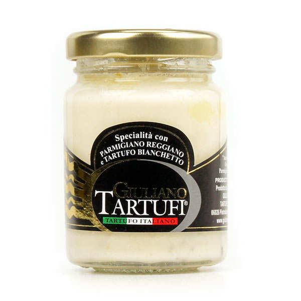 Crème de parmesan à la truffe bianchetto