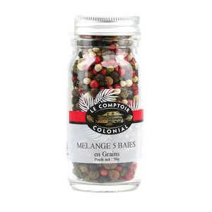 Le Comptoir Colonial - 5 peppercorns mix
