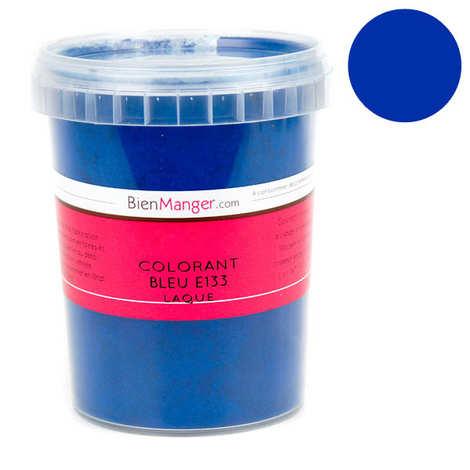 BienManger aromes&colorants - Colorant alimentaire bleu E133 - Poudre liposoluble