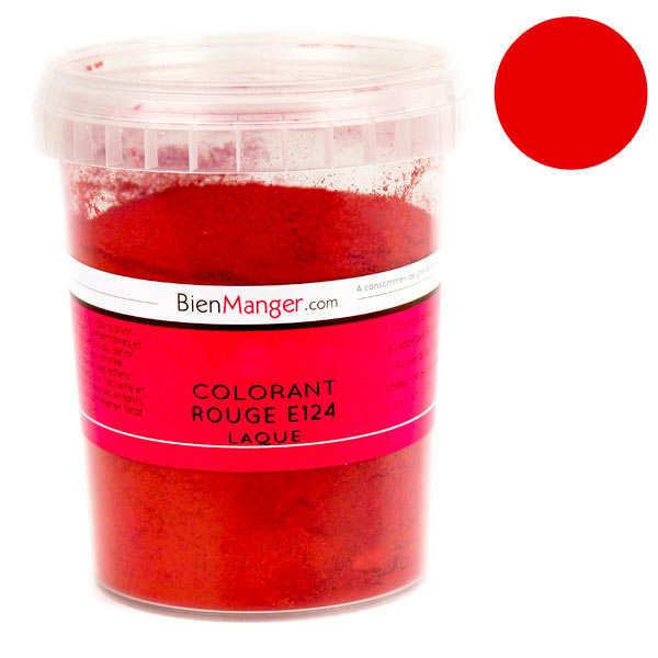 Colorant alimentaire rouge E124 - Poudre liposoluble